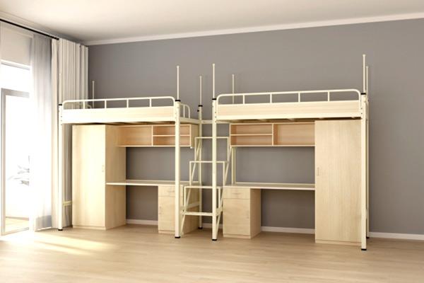 深圳学生公寓床-深圳学生宿舍公寓床