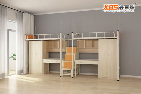 双人位公寓床/上下床XBS07款,深圳公寓床,公寓床生产厂家