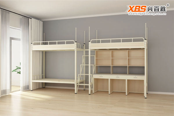 三人公寓床/上下床XBS007款