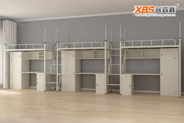 三人位公寓床/上下床XBS008款,深圳上下床,上下床生产厂家