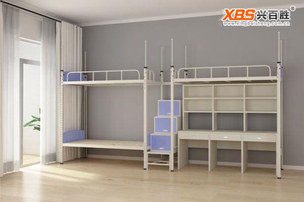 三人位公寓床/上下床XBS11款,深圳上下床,上下床生产厂家