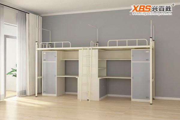 双人公寓床,上下床XBS20款,深圳公寓床,公寓床生产厂家