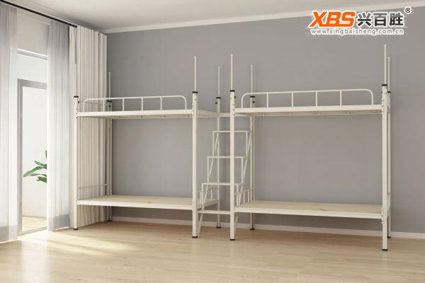 深圳兴百胜公寓床生产厂家,四人双层上下床,公寓床XBS22款
