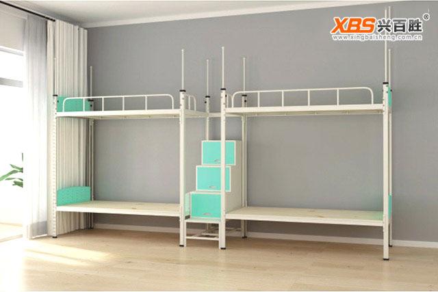 深圳兴百胜公寓床生产厂家,宿舍上下公寓床-学生宿舍上下公寓床厂家