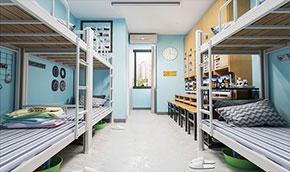 深圳兴百胜上下床、双层铁床生产厂家,样板床展示区